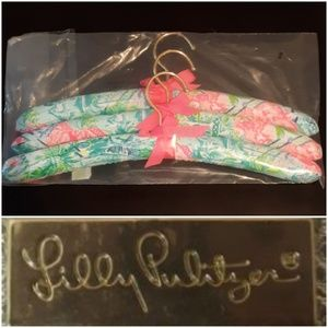 Lilly Pulitzer Padded Hanger 3 Piece Set